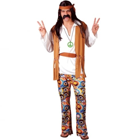 Wicked Costumes Woodstock Hippie (L)