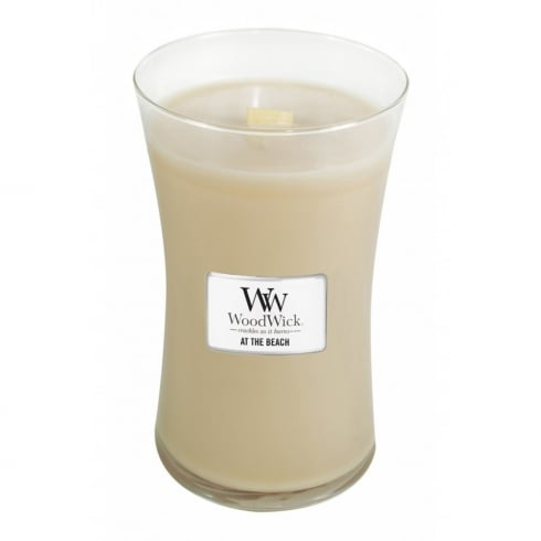 Woodwick Candle At The Beach Large Jar 21.5oz