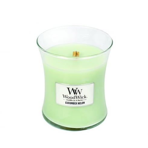 Woodwick Candle Cucumber Melon Medium Jar 9.7oz