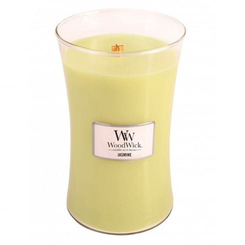 Woodwick Candle Jasmine Large Jar 21.5oz