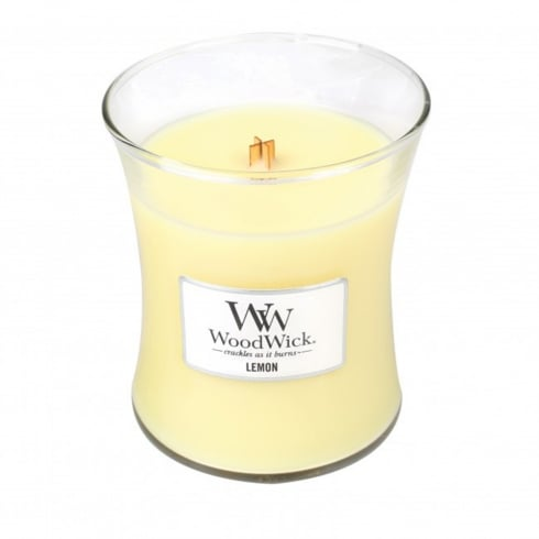 Woodwick Candle Lemon Medium Jar 9.7oz