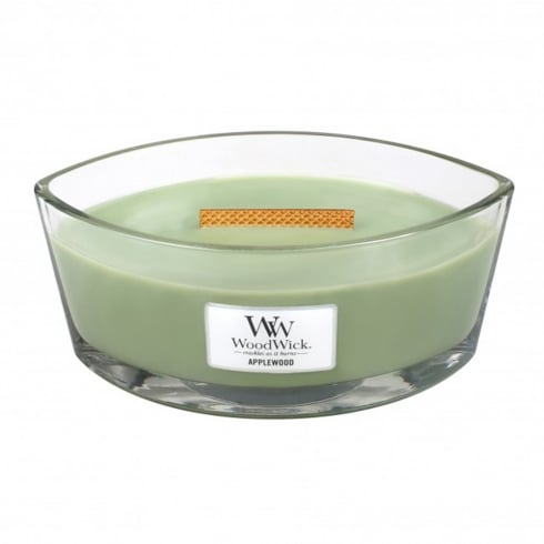 Woodwick Hearthwick Candle Applewood Eclipse 16oz