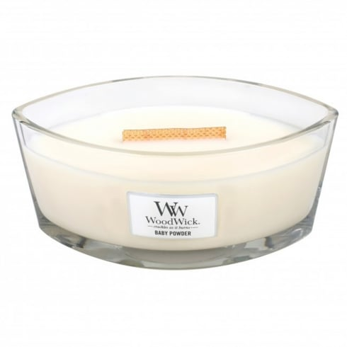 Woodwick Hearthwick Candle Baby Powder Eclipse 16oz