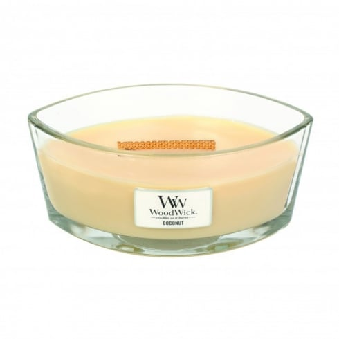 Woodwick Hearthwick Candle Coconut Eclipse 16oz