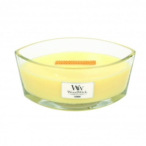 Woodwick Hearthwick Candle Lemon Eclipse 16oz