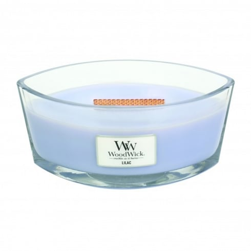 Woodwick Hearthwick Candle Lilac Eclipse 16oz