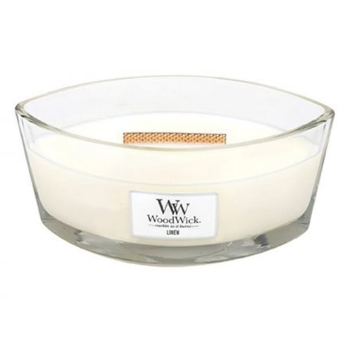 Woodwick Hearthwick Candle Linen Eclipse 16oz