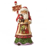 Workshop Wonders - North Pole Santa Figurine