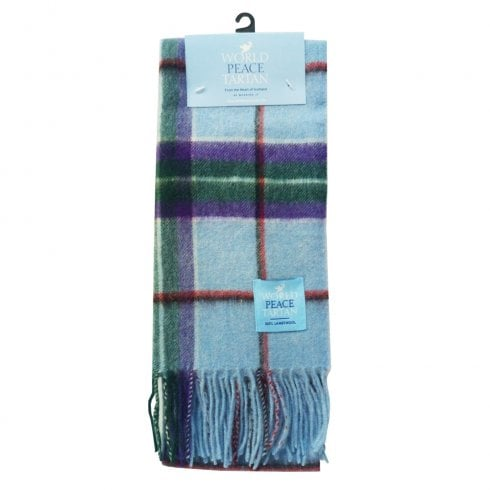 World Peace Tartan Scarf