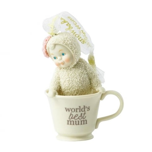 Snowbabies Worlds Best Mum Figurine