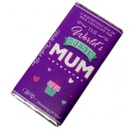 Worlds Best Mum Milk Chocolate Bar
