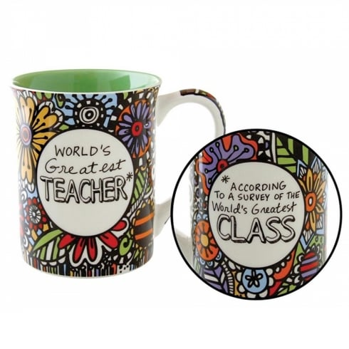 Our Name Is Mud Worlds Greatest Teacher Mug