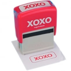 XOXO - Hugs & Kisses Text Speak Ink Stamp