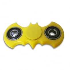 Yellow Bat Fidget Spinner