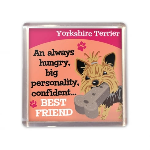 Wags & Whiskers Yorkshire Terrier Magnet