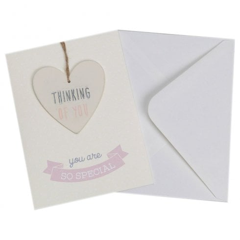 Widdop & Co. You Are Special Greeting Card With Thinking Of You Plaque