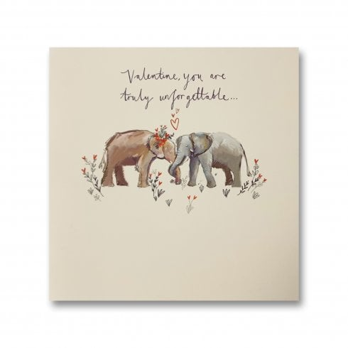 Ling Design You Are Truly Unforgettable Valentines Day Card SVHI029