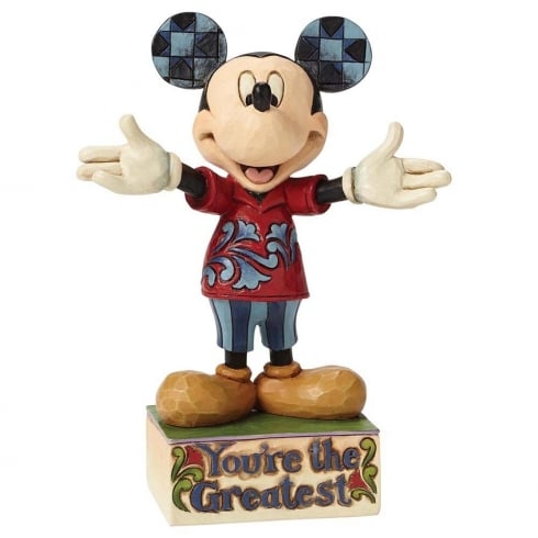 Disney Traditions You re The Greatest Dad Mickey Mouse Figurine