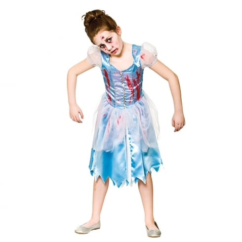 Wicked Costumes Zombie Cinders (5-7) Medium