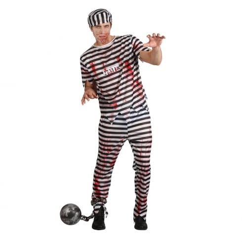Wicked Costumes Zombie Convict Medium