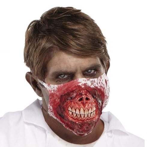 Fun World Zombie MD Face Mask