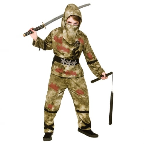 Wicked Costumes Zombie Ninja (8-10) Large