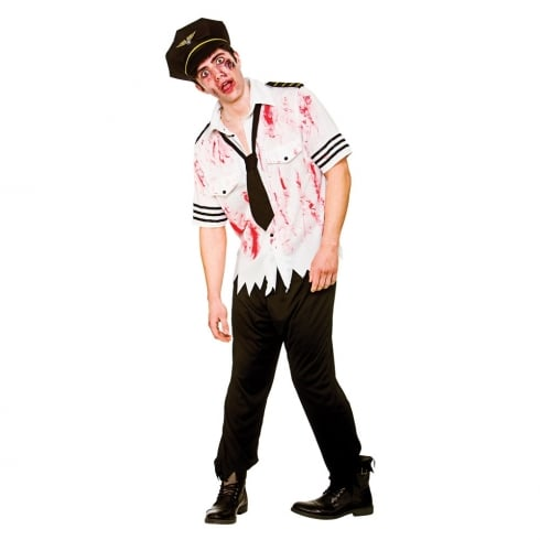 Wicked Costumes Zombie Pilot X Large